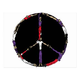 peace people postcard