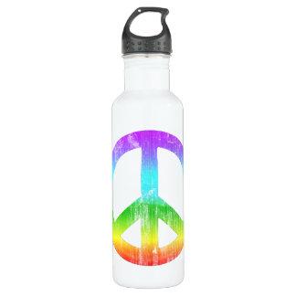 Peace 24oz Water Bottle