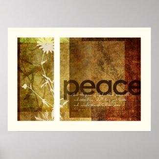 Peace   Philippians 4:7 Posters