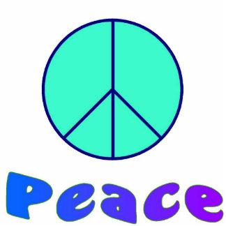 Peace picture sculpture cut outs