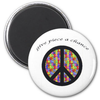peace_piece 2 inch round magnet