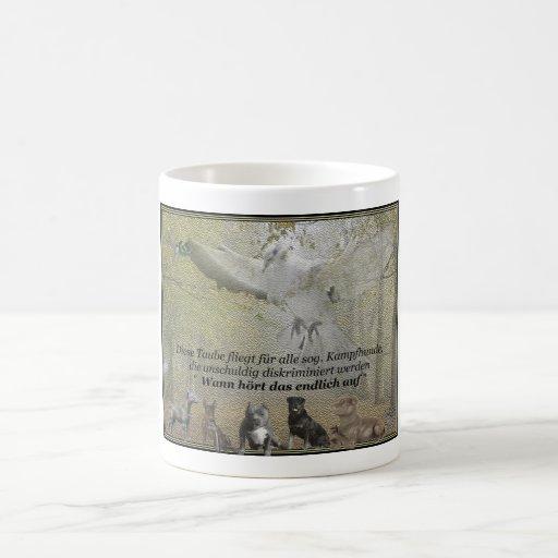 Peace pigeon coffee mug