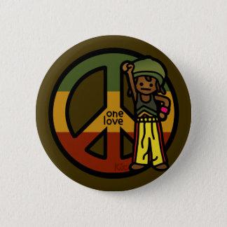 peace pin. pinback button