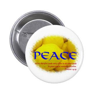 Peace Pinback Button
