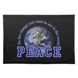 PEACE placemat Cloth Placemat