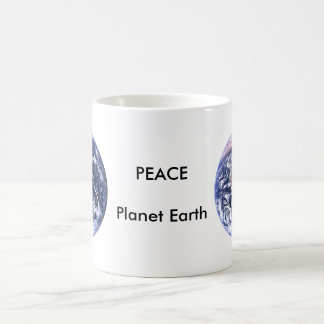 PEACE Planet Earth Day The MUSEUM Zazzle Gifts Coffee Mug
