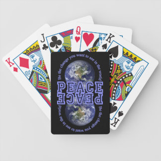 PEACE playing cards