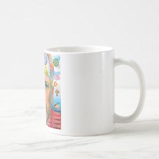 """Peace Please"" - Surreal Graphic Coffee Mug"
