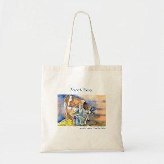 Peace & Plenty Tote Bag