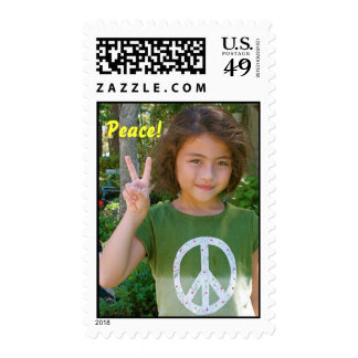 Peace! Postage Stamp
