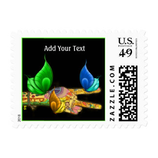 Peace Postage by SRF