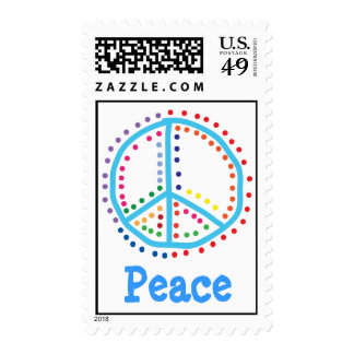 Peace Postage Stamp