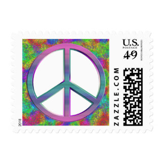 Peace Postage Stamps - Small Size
