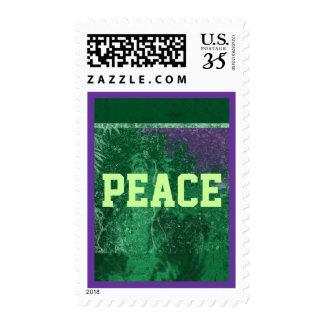peace postcard stamp