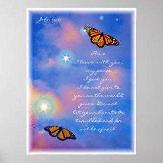 Peace Poster del señor
