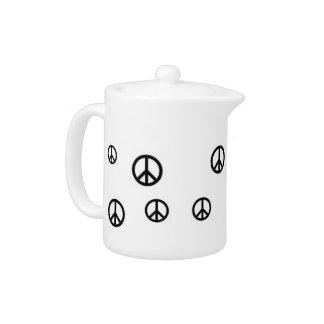 Peace Pot Teapot