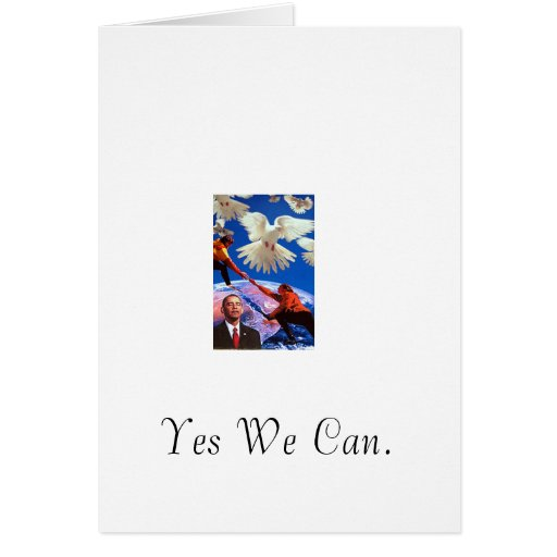 Peace President Greeting Cards