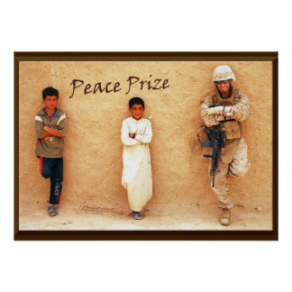 """Peace Prize"" Poster"