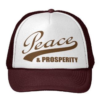 Peace & Prosperity Trucker Trucker Hat