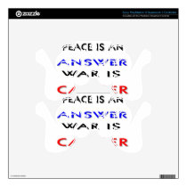 Peace PS3 Controller Decal