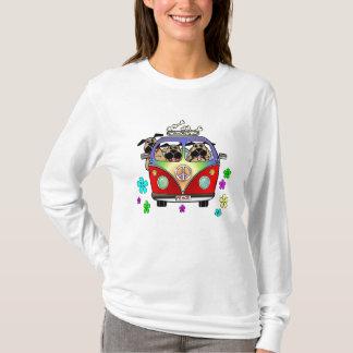 Peace Pugs T Shirt