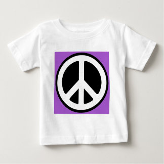 Peace Purple Sign! Baby T-Shirt