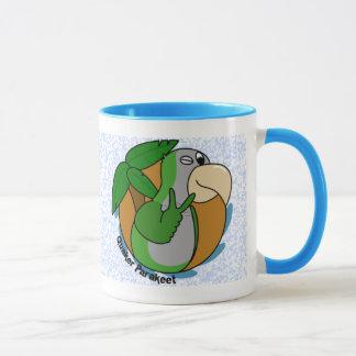 Peace Quaker Parrot Mug