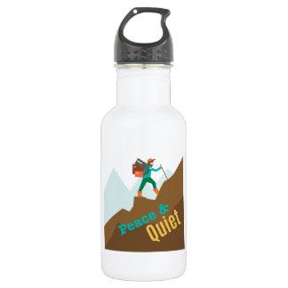 Peace & Quiet 18oz Water Bottle