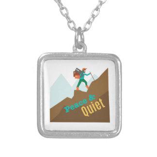 Peace & Quiet Custom Necklace