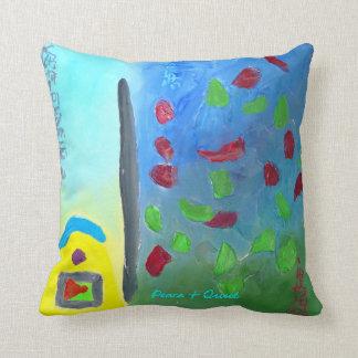 Peace & Quiet Throw Pillows