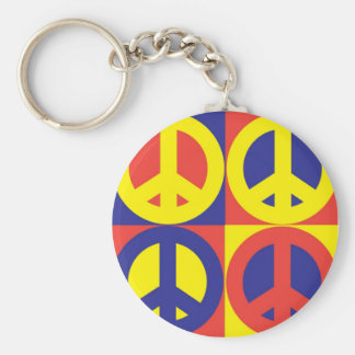 Peace Quilt - Keychain