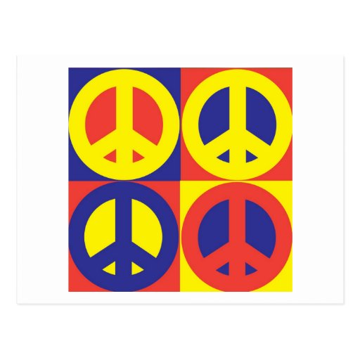 Peace Quilt - Post Card