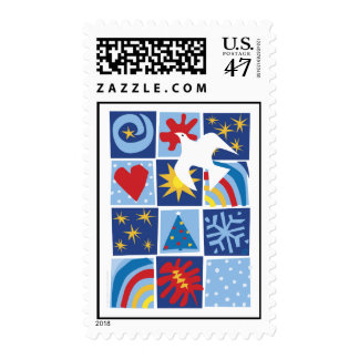 Peace Quilt Postage