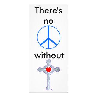 PEACE RACK CARD