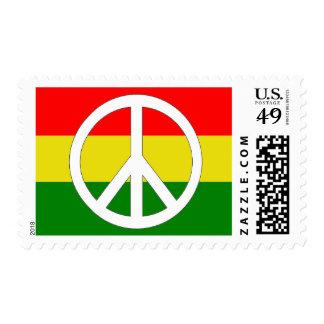 Peace Rasta Postage