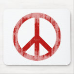 peace red Faded.png Mousepad
