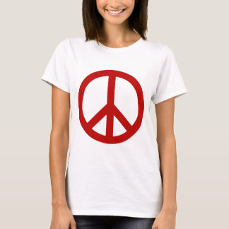 peace red.png T-Shirt