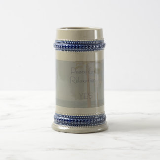 Peace & Relaxation Beer Stein