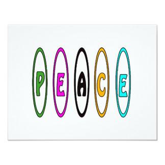 Peace Retro Card