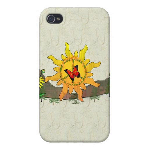 Peace Rising iPhone 4 Cover