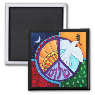 Peace Rising Magnet Magnets