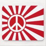 Peace Rising Sun Mousepad