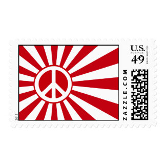 Peace Rising Sun Stamps