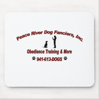 Peace River Dog Fanciers Mouse Pad