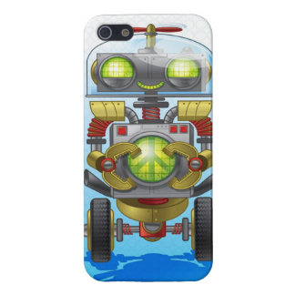 Peace Robot Cover For iPhone SE/5/5s