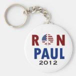 Peace Ron Paul 2012 Keychains