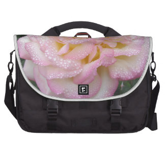 Peace Rose, after the rain. Bags For Laptop