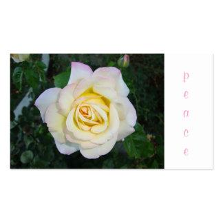 Peace Rose Business Cards