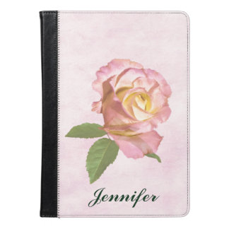 Peace Rose, Customizable Name iPad Air Case