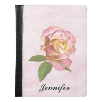 Peace Rose, Customizable Name iPad Case